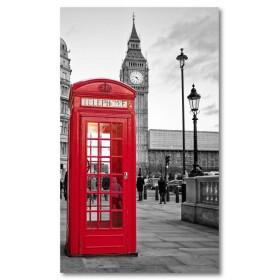 Αφίσα (Λονδίνο, Αγγλία, μαύρο, λευκό, άσπρο)